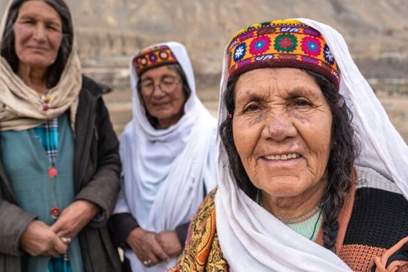 Three women in Pakistan