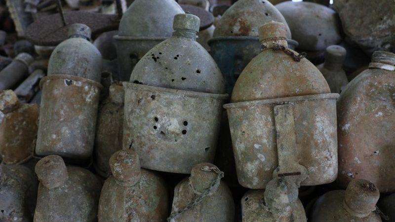 Antiguos comedores de agua en las Islas Salomón