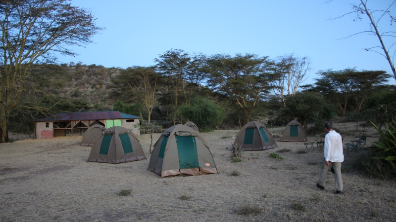 maasai people campsite