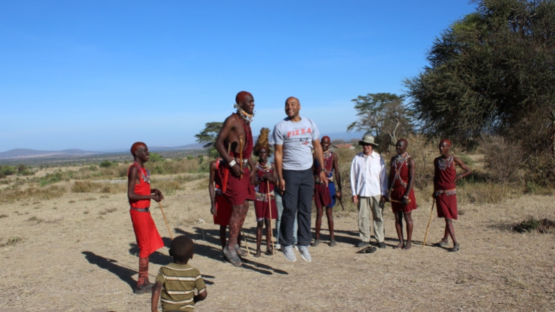 maasai people adamu jumping ceremony