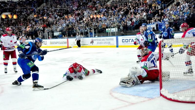 Minsk Ice Hockey Arena in Belarus