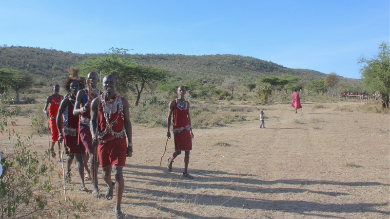 maasai people warriors