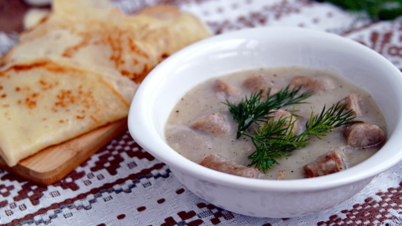 Machanka stew from Belarus