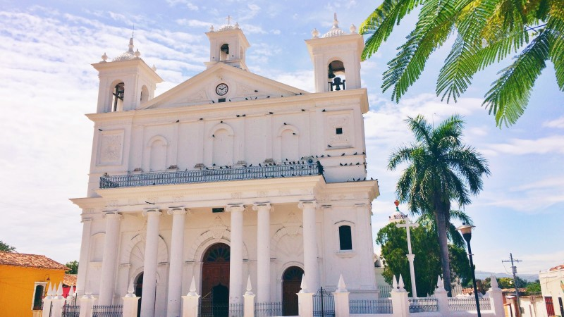 Iglesia Santa Lucia, Suchitoto, Guatemala