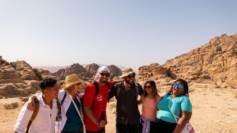 Group shot of Jordan