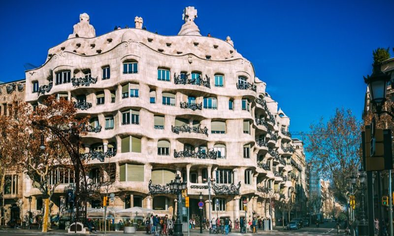 La Pedrera House in Barcelona