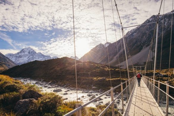 Mount Cook's Hooker Valley Track