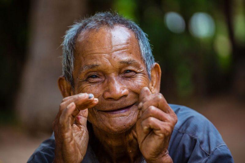 Cambodian local