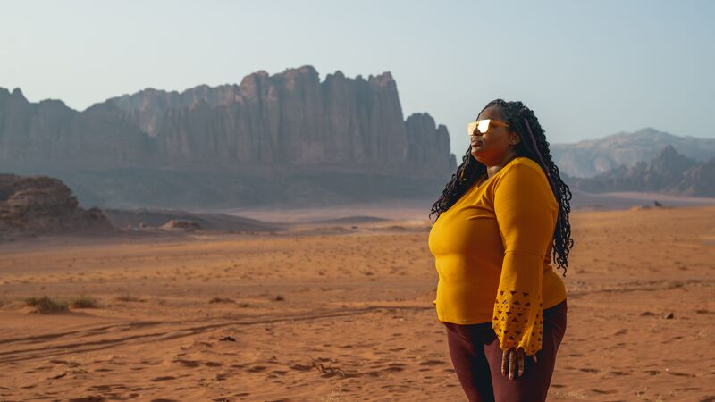 traveling to Jordan plus size
