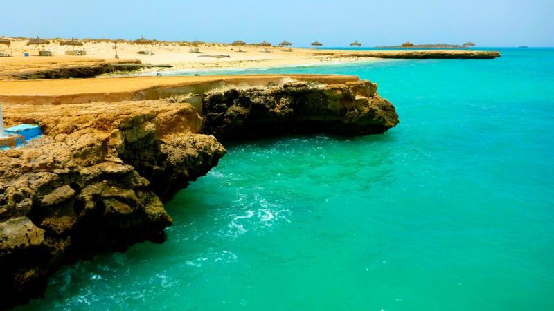 A beautiful beach in Djibouti