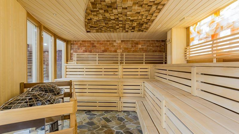 Sauna in a Turkish hamam.