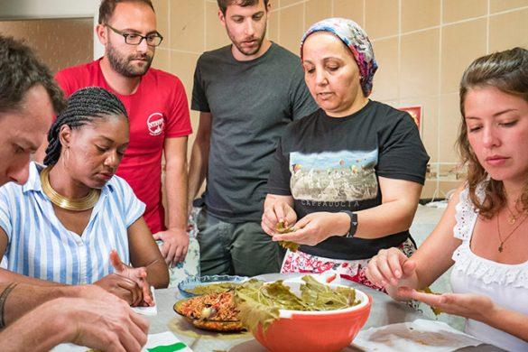 Cooking class in Cappadocia.