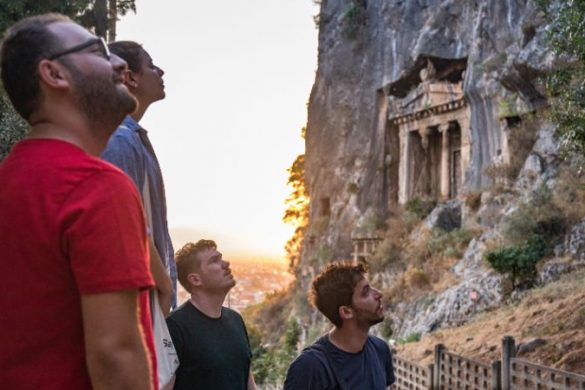 Travellers on the Lycian Way