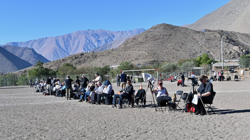 Eclipse site in the Elqui Valley, Chile
