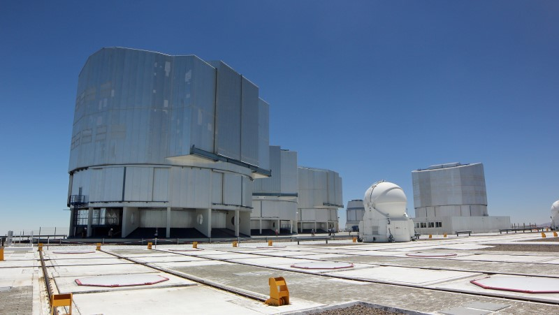 On site at the Very Large Telescope (VLT)