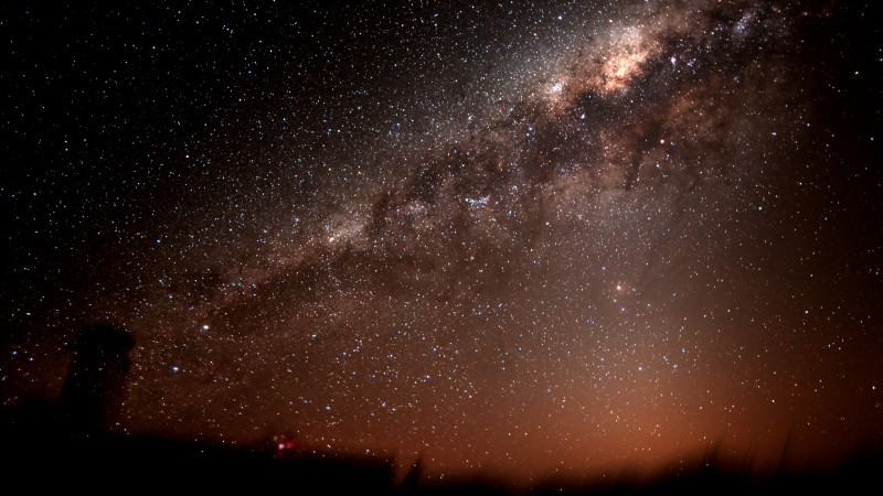 Views of the Milky Way from the Pangue Observatory