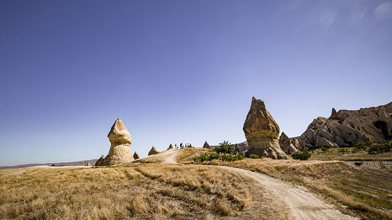 Fairy chimneys in Goreme