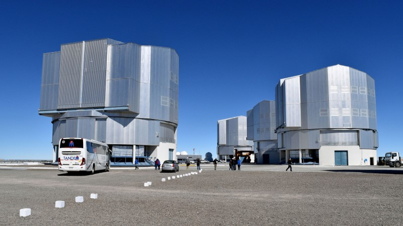 VLT Unit Telescopes, Chile
