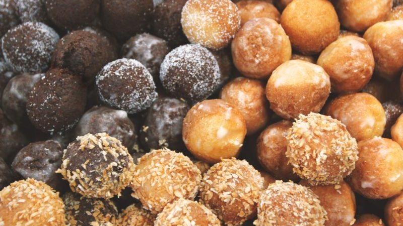 Deep fried donut balls.