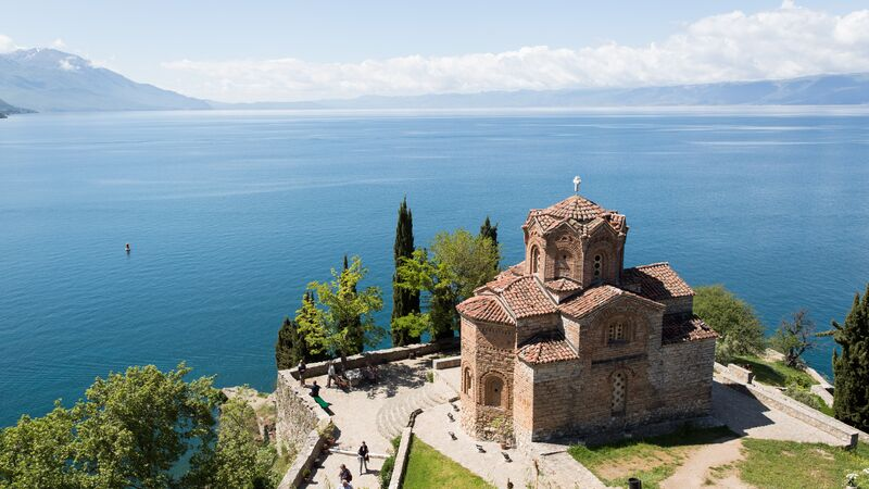 Ohrid Church Macedonia