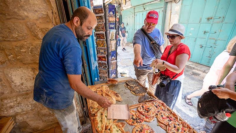 Bakery in Jerusalem, Israel.