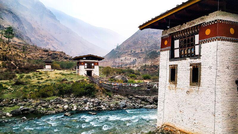 Dzong Paro.