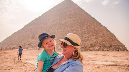 What my 5-year-old daughter learned about the world – and what I learned about her – on a trip to Egypt