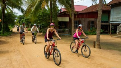 What it's really like cycling through Cambodia