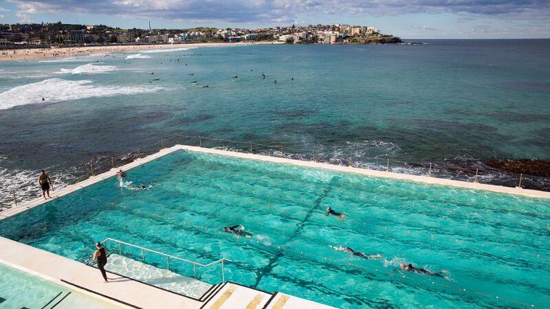 Swimming pool at Bondi Beach, Sydney