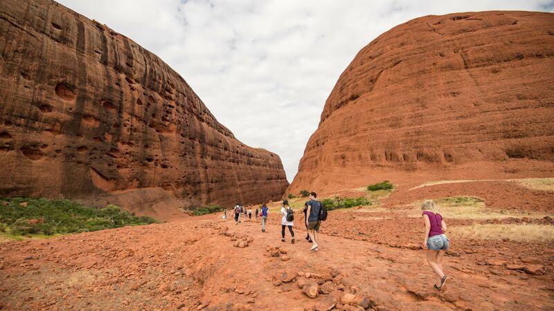 Red rocks at Uluru, NT