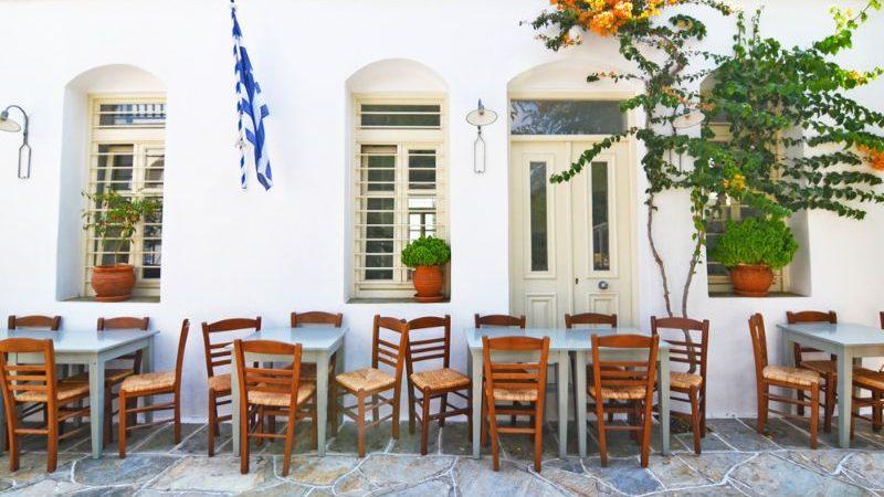 Traditional tavern at Sifnos
