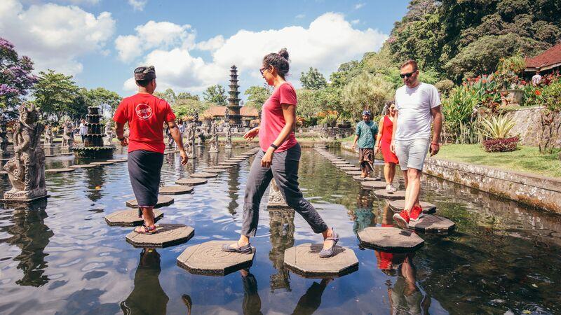 Travellers in Bali