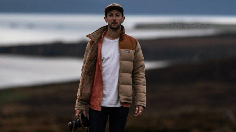Ben McNamara on shoot
