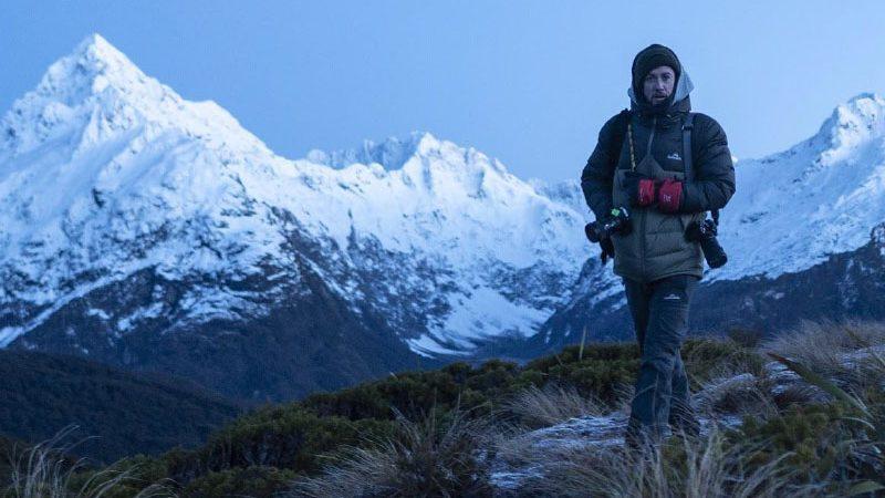 Ben on top of a mountain