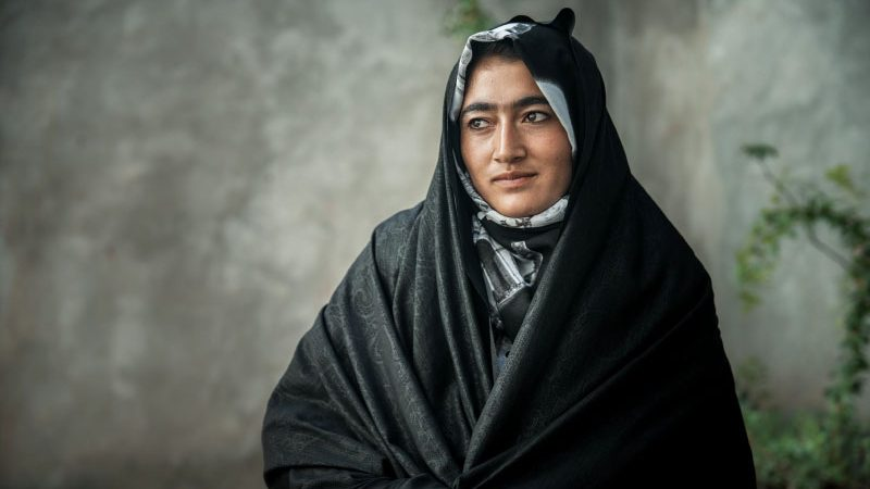 Local woman in Afghanistan