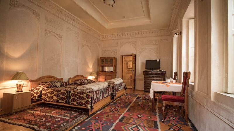 Hotel in Uzbekistan.