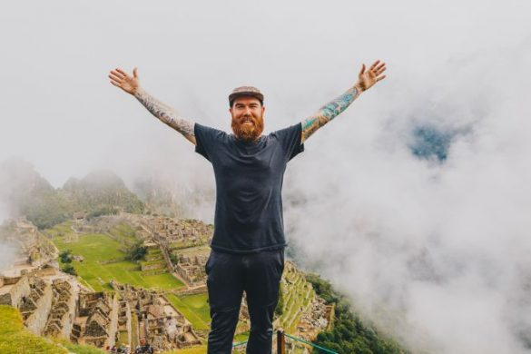 Ryan Bolton at Machu Picchu