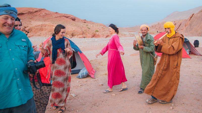 Berber family Morocco