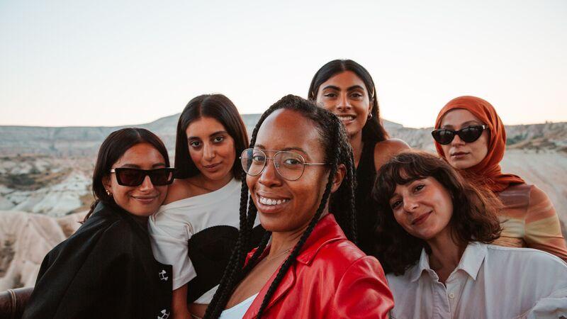 Group of women in Cappadocia