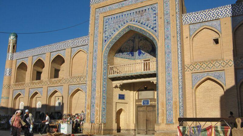Madrasah in Khiva.