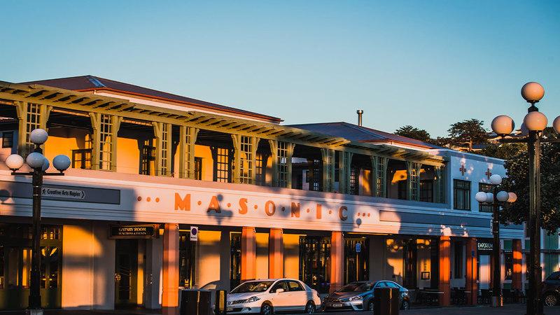 The Masonic Hotel in Napier