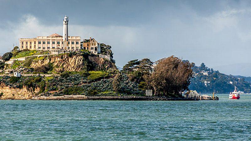Alcatraz Island from the San Francisco Bay