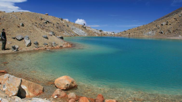 Lake in Tongariro National Park
