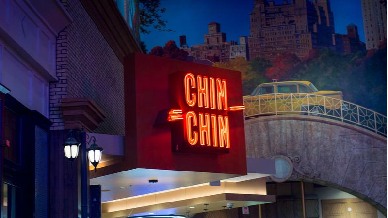 Chin Chin restaurant in Las Vegas, USA
