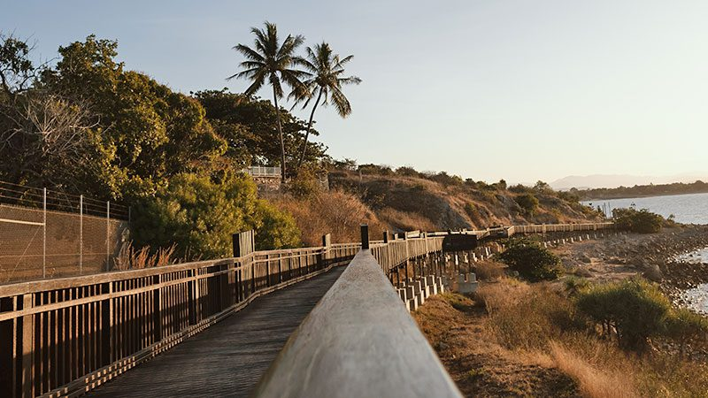 The Bicentennial Walk in Airlie Beach