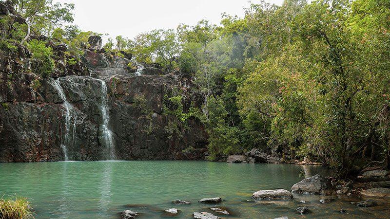Cedar Creek Falls in Queensland