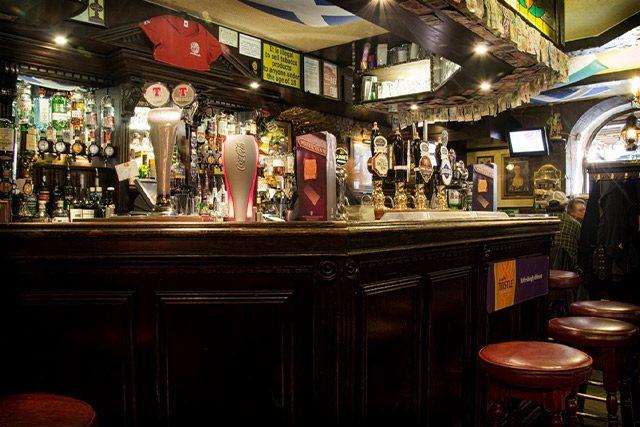The World's End Bar in Edinburgh