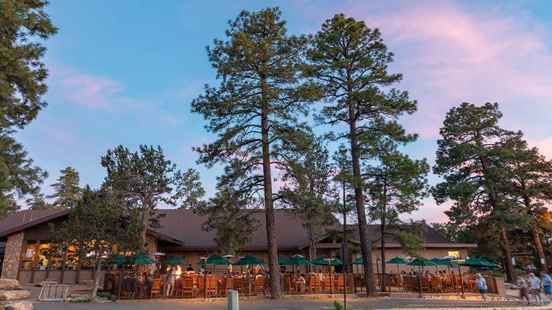 Yavapai Tavern Restaurant at the Grand Canyon