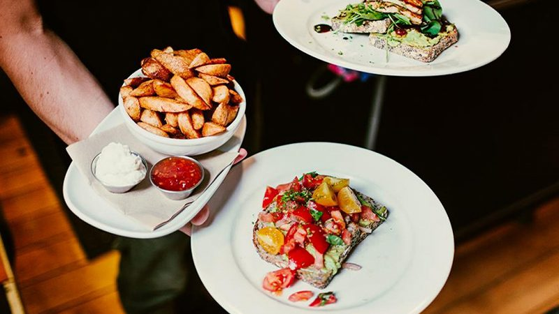 A selection of breakfast dishes available at Fidel's Cafe in Wellington.