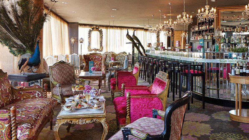 The interior of Hippopotamus, a restaurant at QT hotel in Wellington.